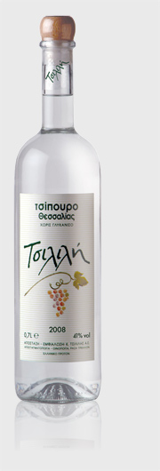 Tsipouro Thessalias Tsilili 41% ABV