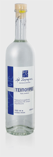 Tsipouro Zacharias 42% Vol